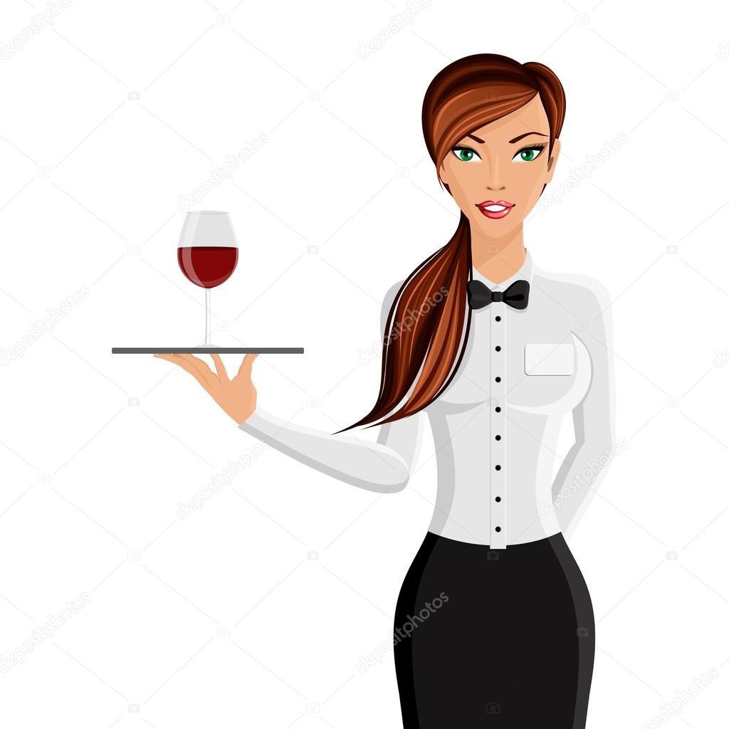 Официант в Lounge бар