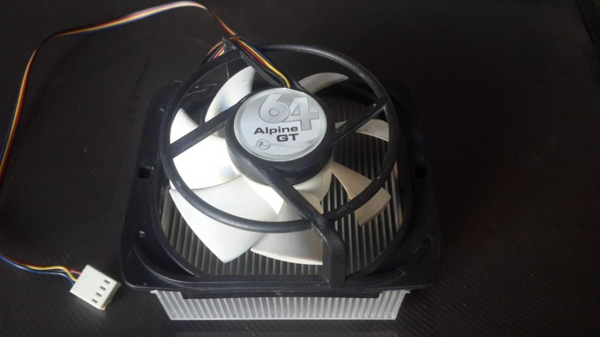 Кулера Arctic Alpine 64 GT (4 pin) для AMD 754/939/AM2/AM3/FM1/FM2