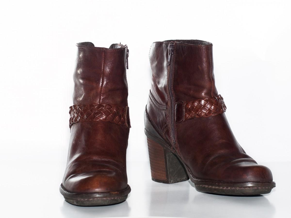 Женские полу сапоги Clarks женская обувь осень