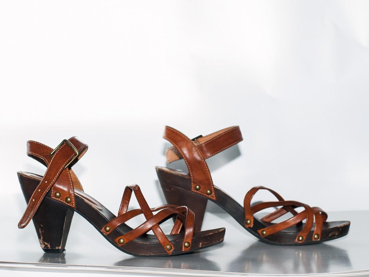 Женские босоножки сандалии H&M женская обувь лето