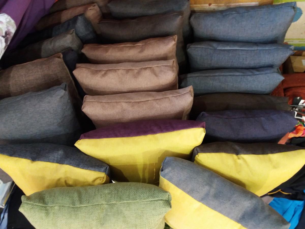 подушки сидушки