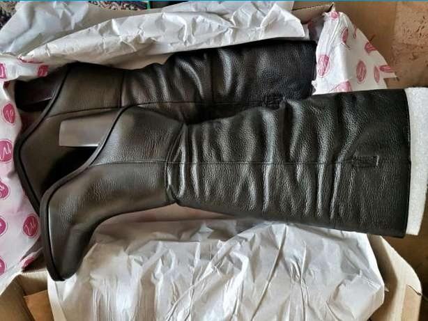 Кожаные сапоги Matisse