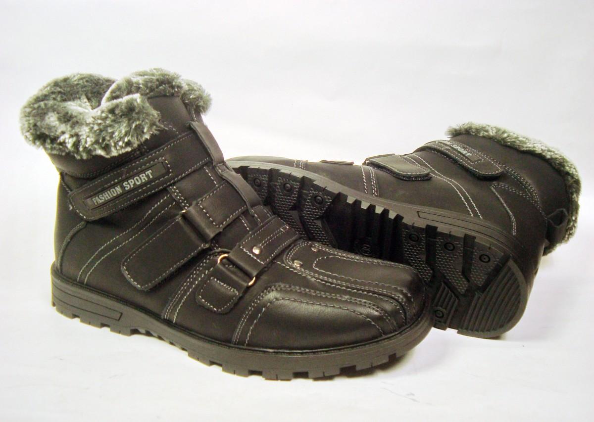 Зимние ботинки подростковые р.39 стелька 26,2см. Новые.