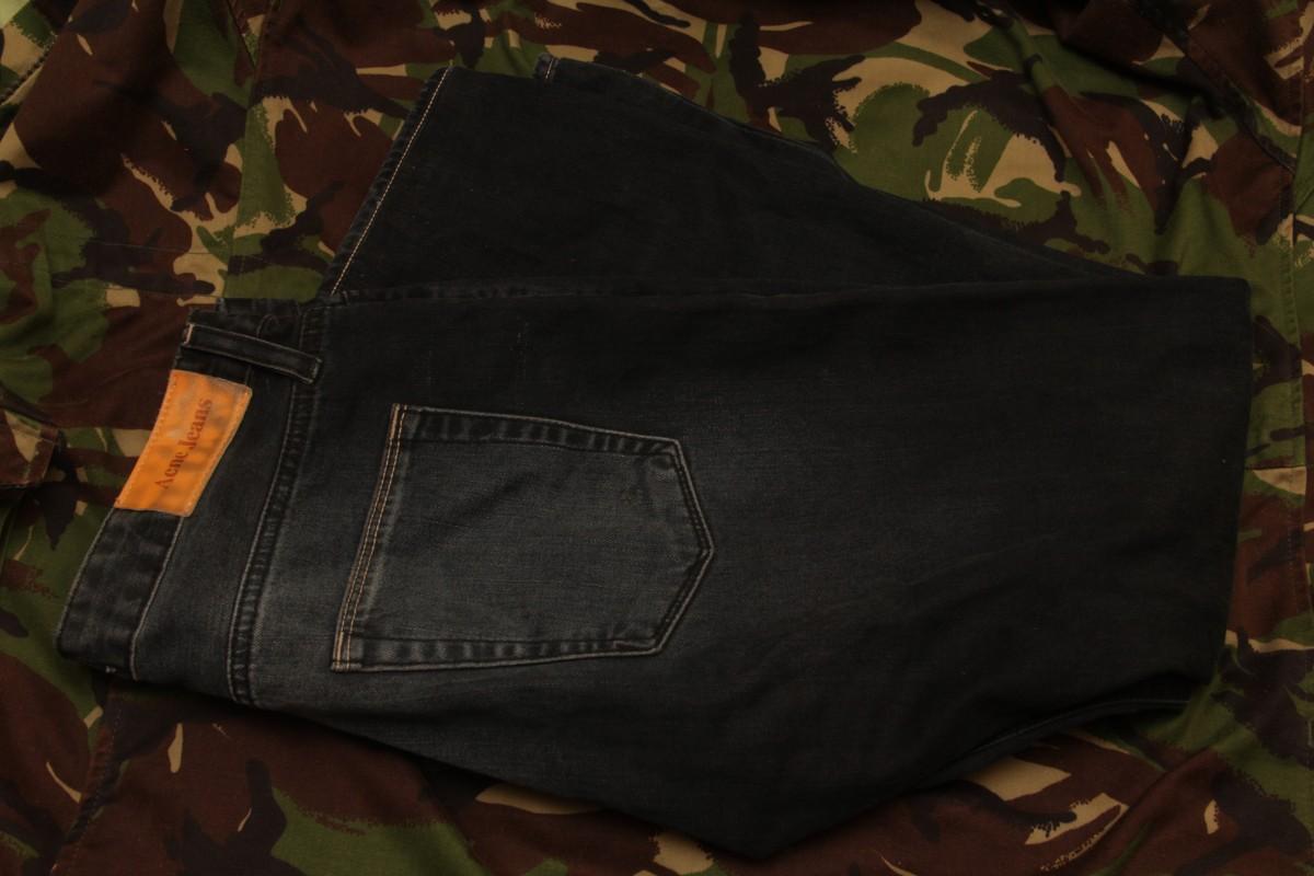 ACNE талия - 42 см оригинал, зауженные джинсы