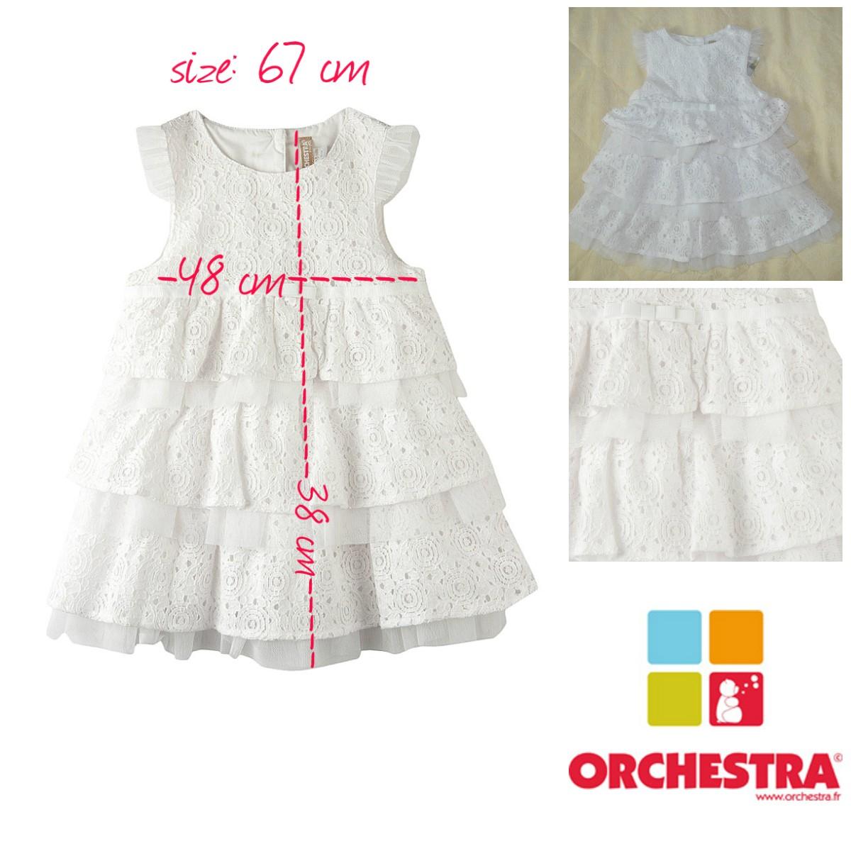 Нарядное платье для маленьких принцесс, марки Orhestra