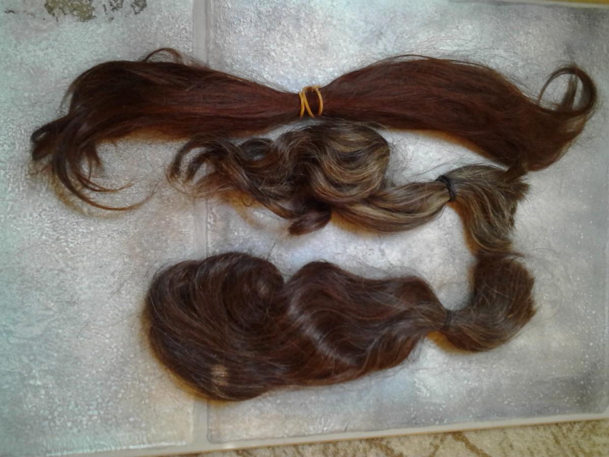 Волосы на дреды