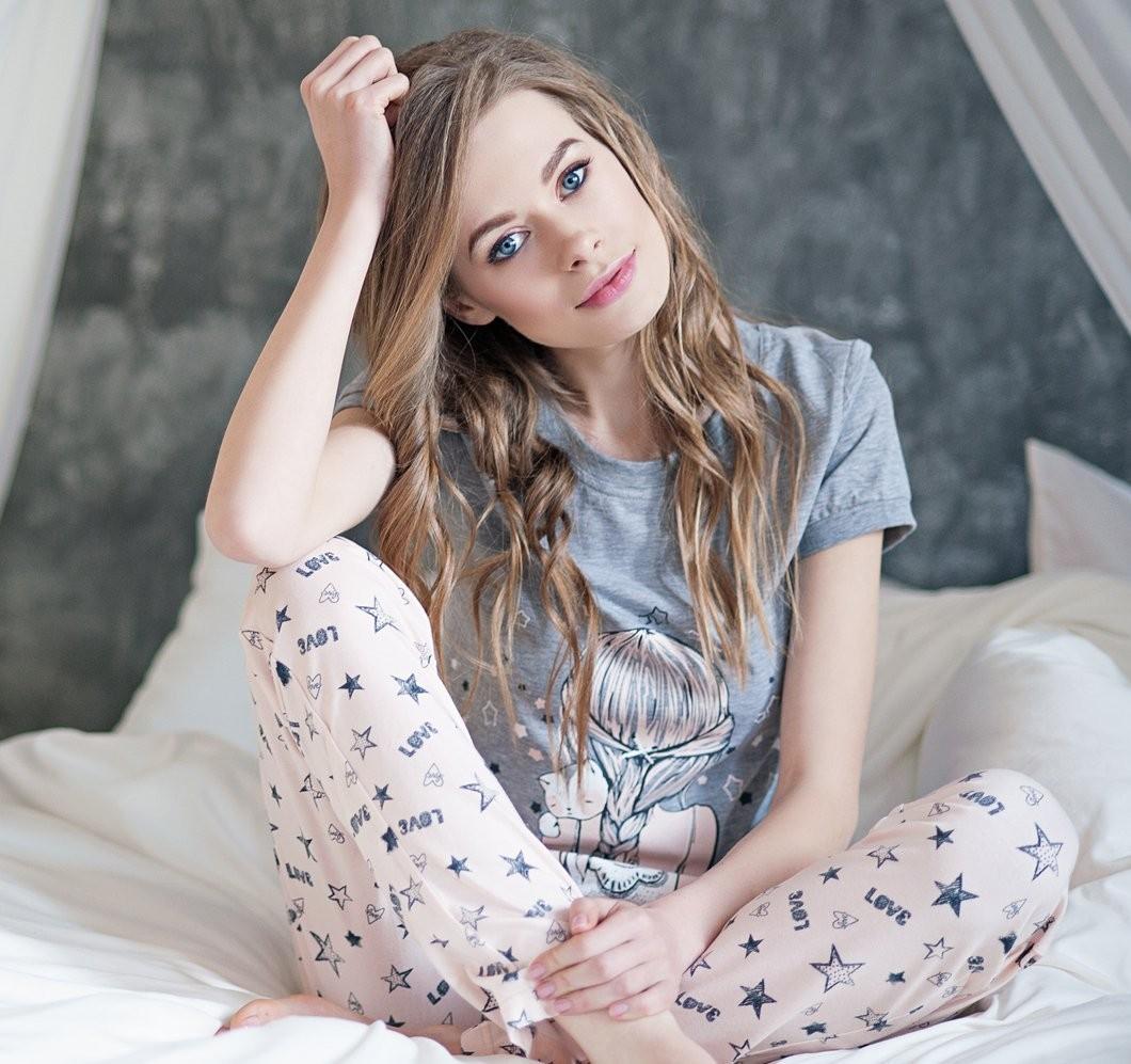 Пижама Зирка хлопковая