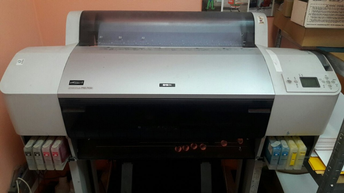 Продам плоттер Epson Stylus Pro 7450