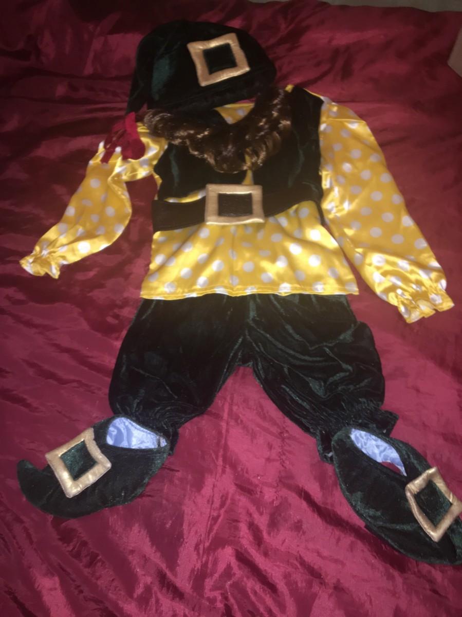Карнавальный костюм гнома гномик