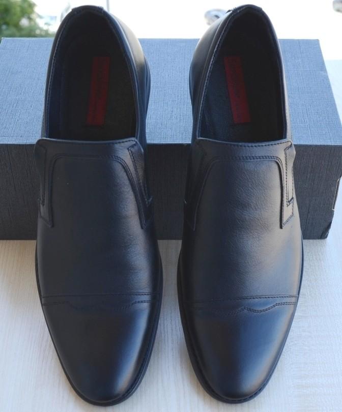 Туфли мужские классические. Осень- весна, 45 размер. Натуральная кожа.