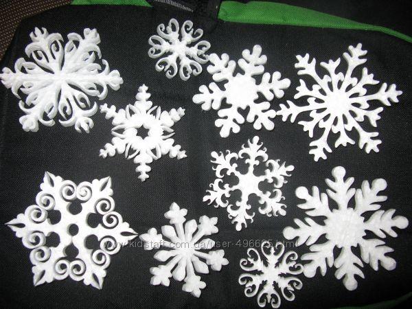 Новогодний и рождественский декор, украшения из пенопласта