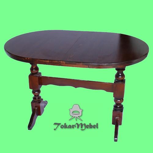 Раскладной деревянный стол на 4 ноги, 300х100