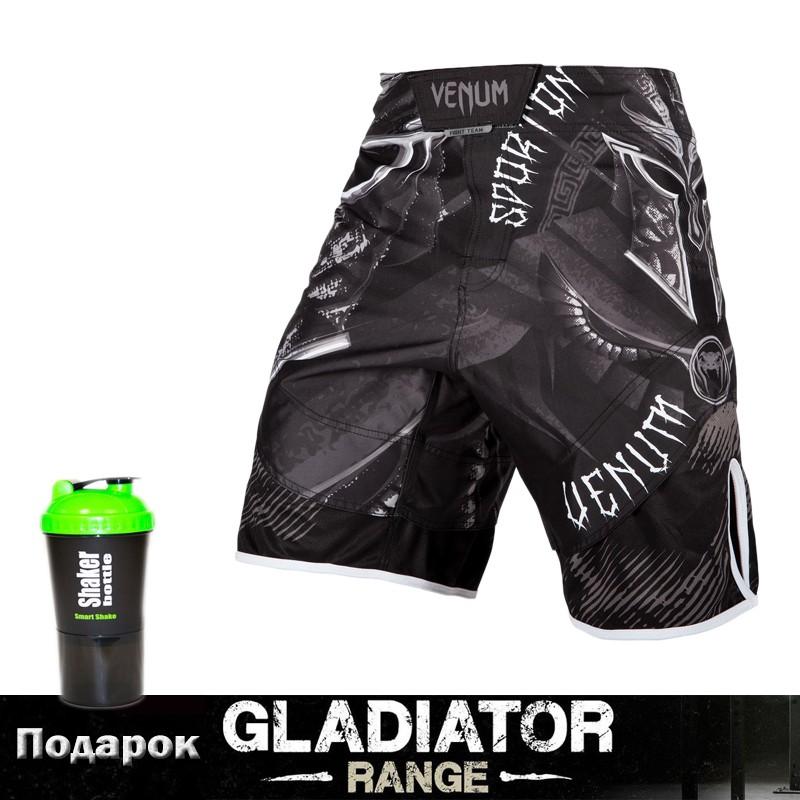 Шорты для MMA Venum Gladiator 3.0 Black White