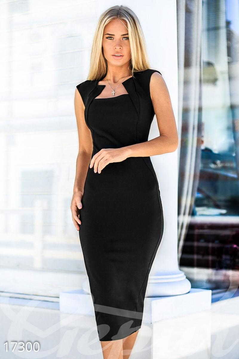 Облегающее платье-футляр размер L