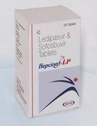 Купите Хепцинат ЛП (Hepcinat LP) софосбувир 400 мг+ ледипасвир 90 мг