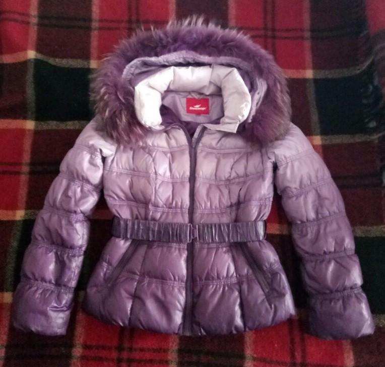Куртка на девочку 8-11 лет