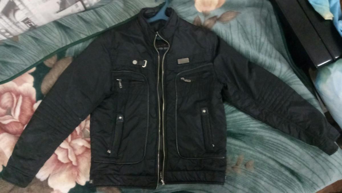Куртка мужская осенняя, двухсторонняя