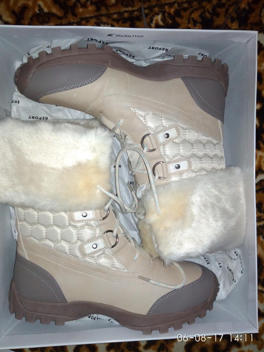 Зимние водонепроницаемые ботинки Report , пролет с амазон, размер 8