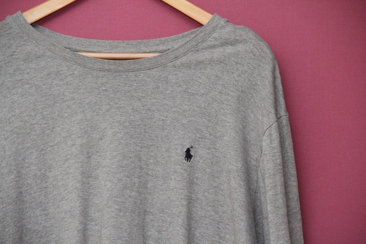 Polo Ralph Lauren XXL (XL) Longsleeve оригинал, меланж