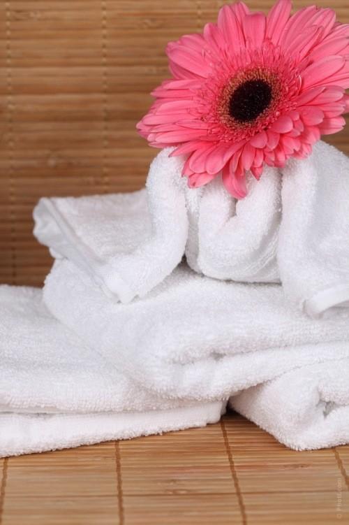 Махровое полотенце 140х70