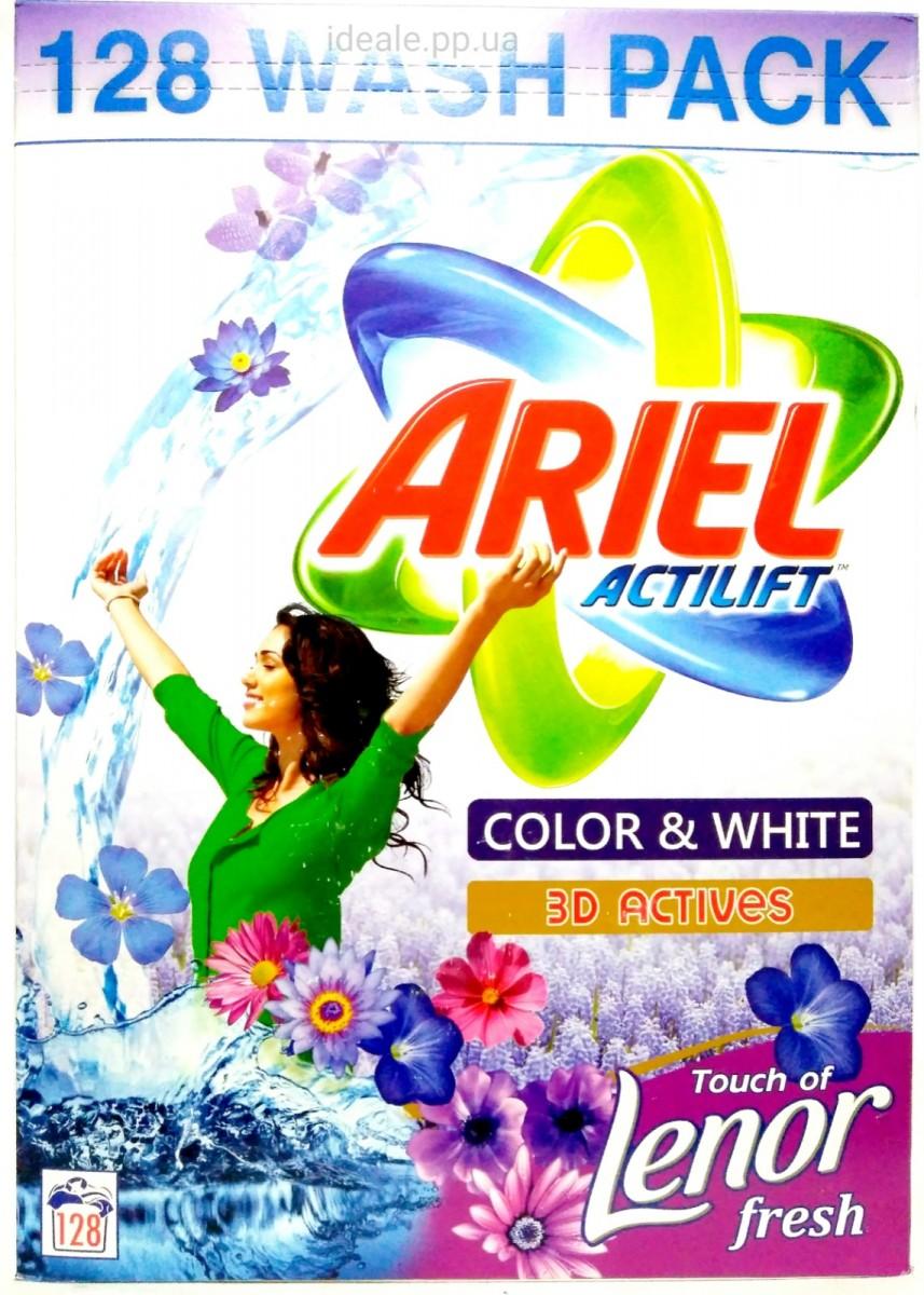 Стиральный порошок Ariel Actilift Lenor Color & White 10кг