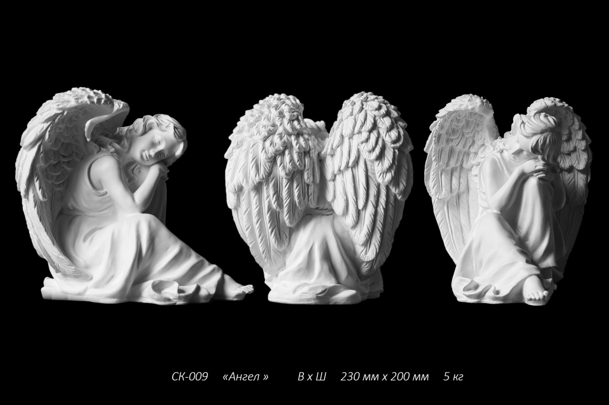 Ангел из литьевого мрамора