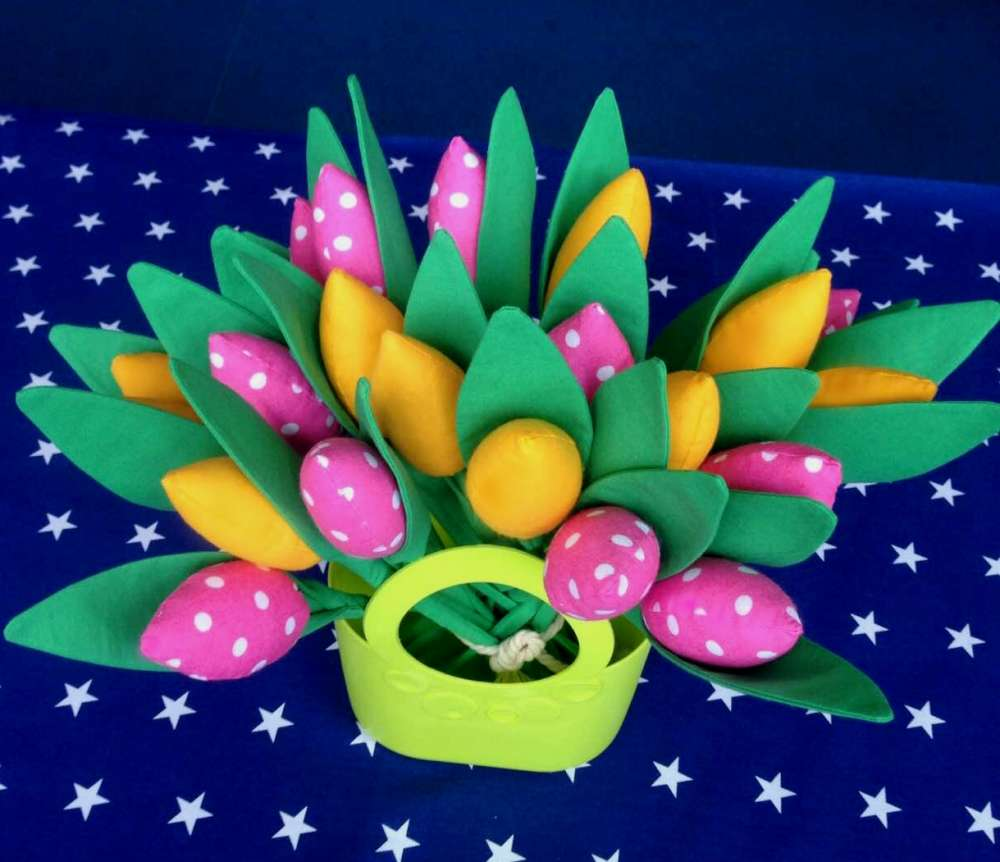 Интерьерные тюльпаны