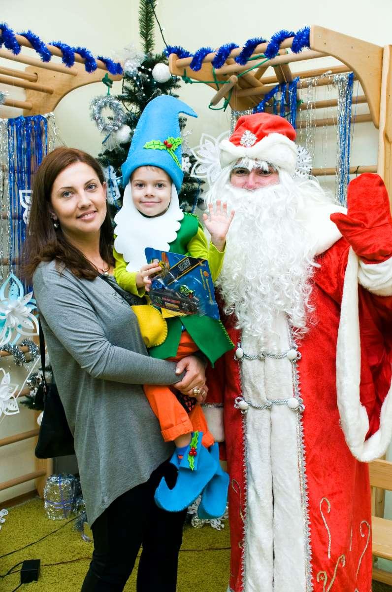 Дед Мороз и Снегурочка в садик, на дом, на корпоратив Киев и область.