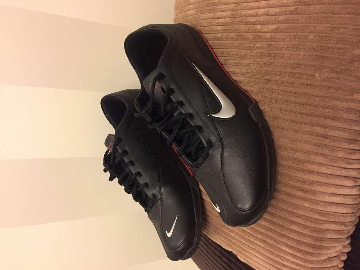 Мужские кожаные кросовки Nike