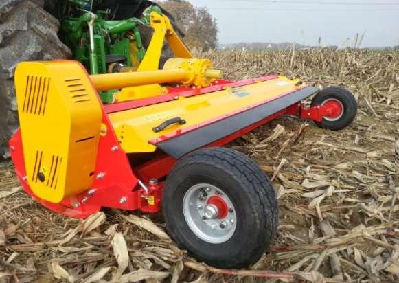 Измельчитель  остатков кукурузы, подсолнечника, веток в садах  ПРР-280