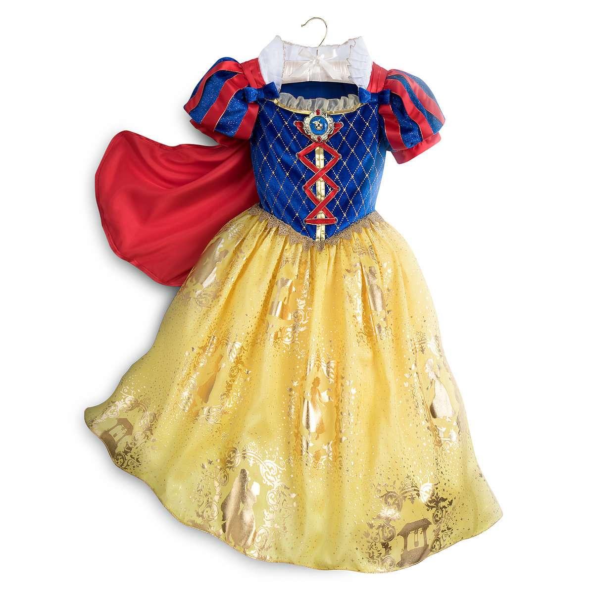 Платья костюмы принцесс Дисней