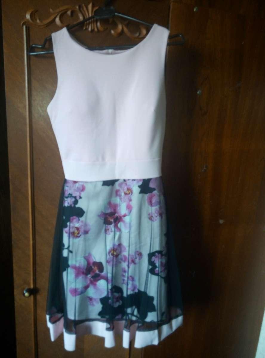 Розовое платье для выпускного, дня рождения, свадьбы