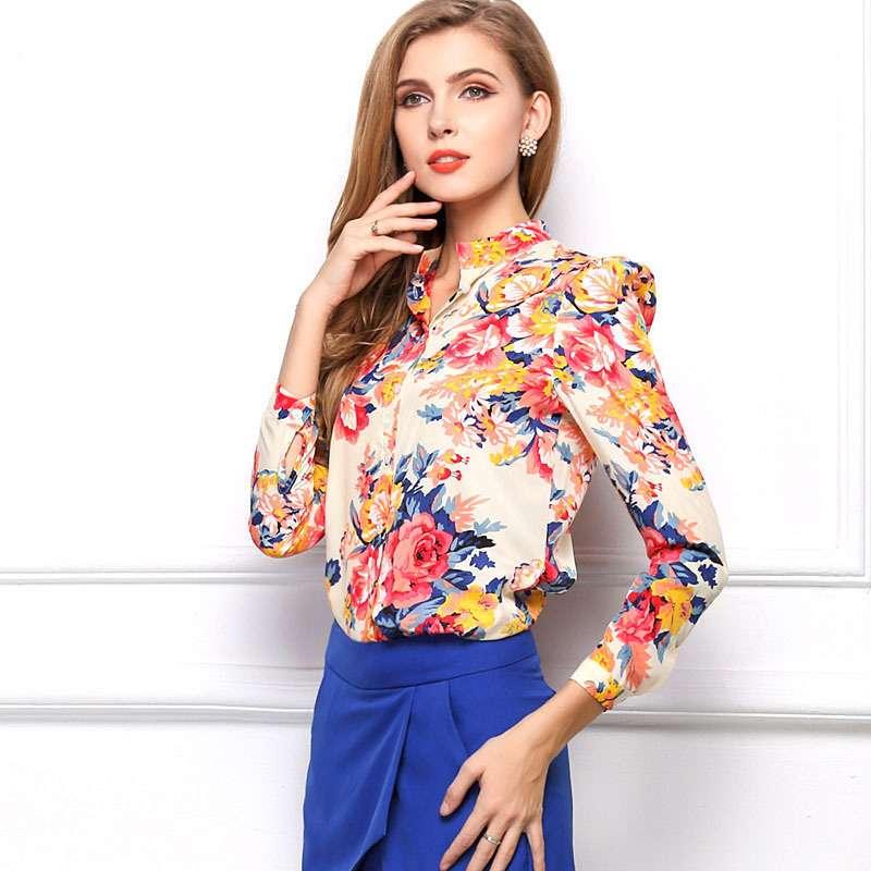 Красивая блуза размер S-M