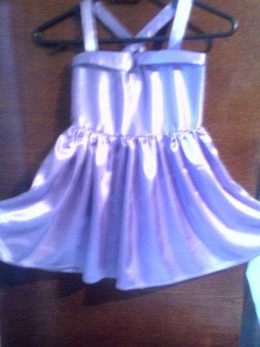 платье атласное нарядное