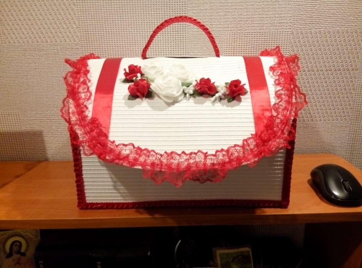 Скринька для грошей на весілля