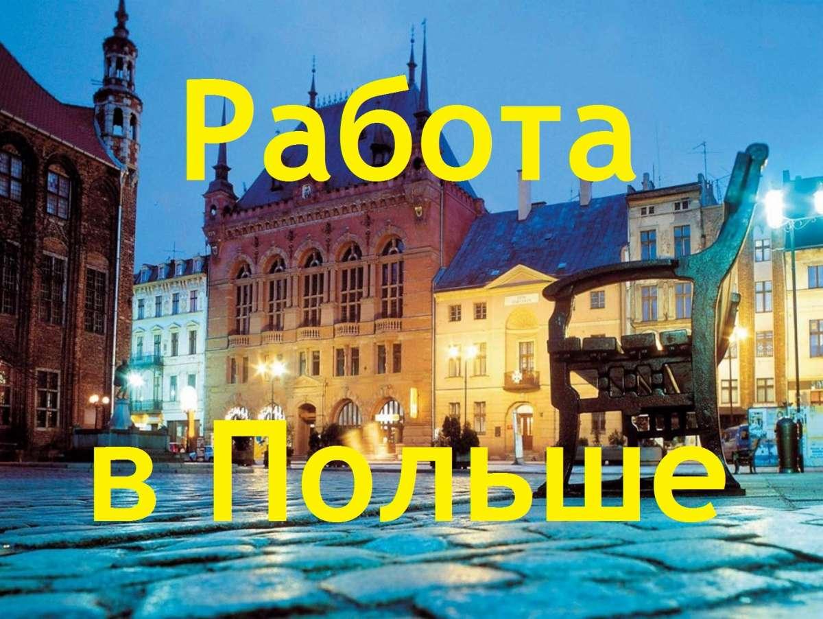Работа в Польше от Visa Vi plus!!!