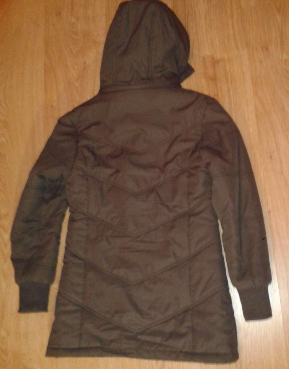 Пальто демисезонное утепленное с отстегивающимся капюшоном для девочки