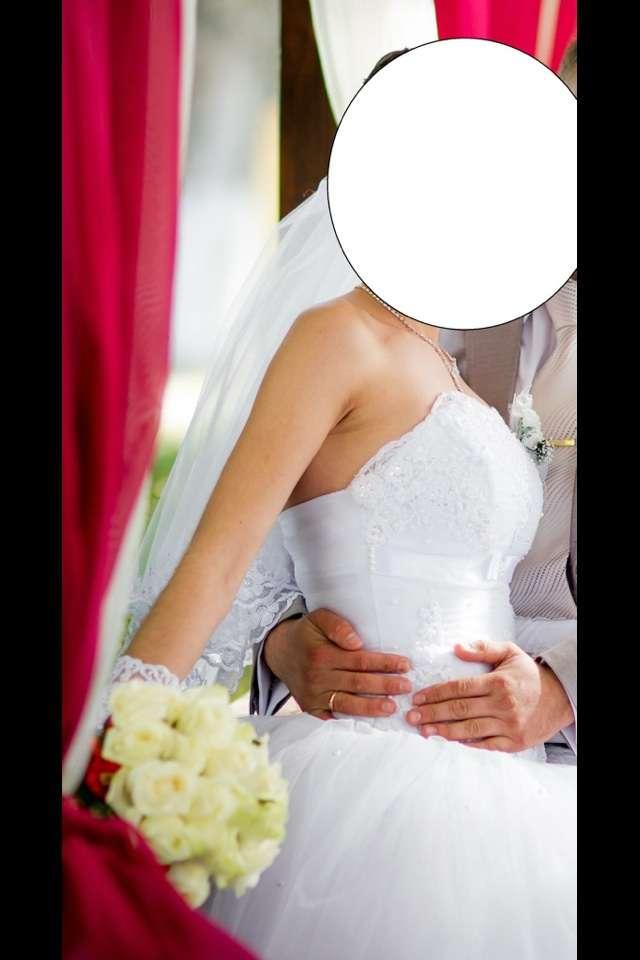Свадебное платье 42р.