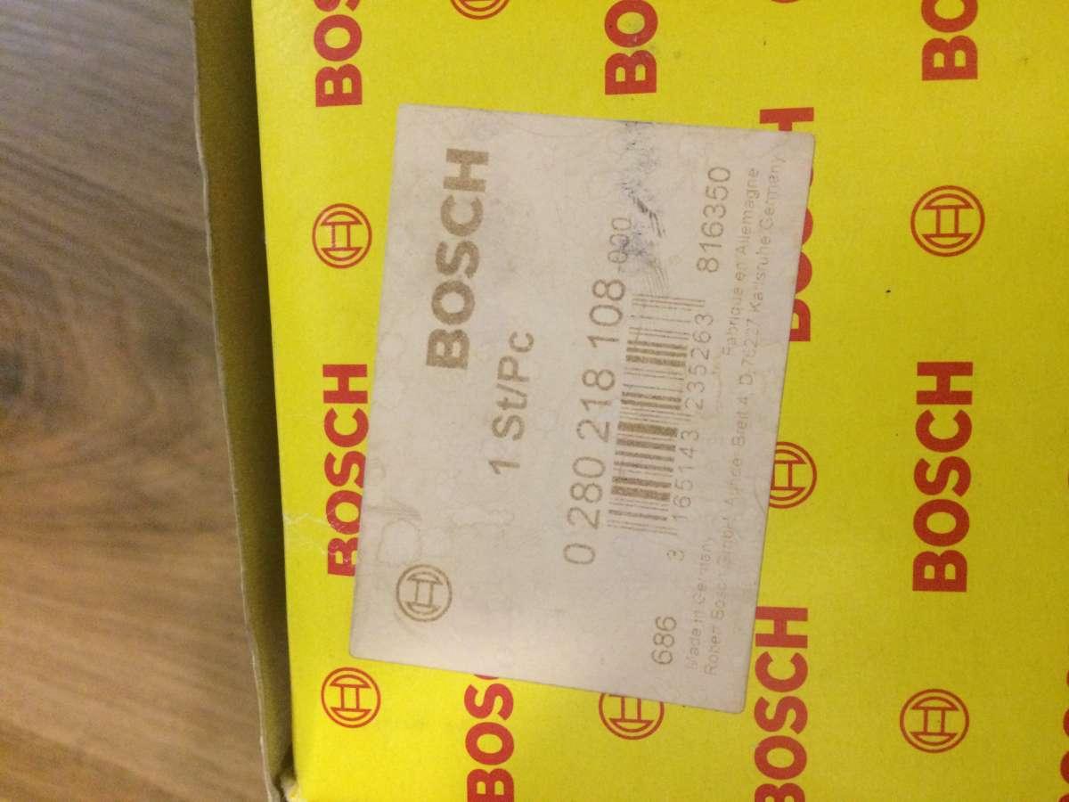 датчик массового расхода Bosch 0280218108 воздуха ДЛЯ Volvo S80