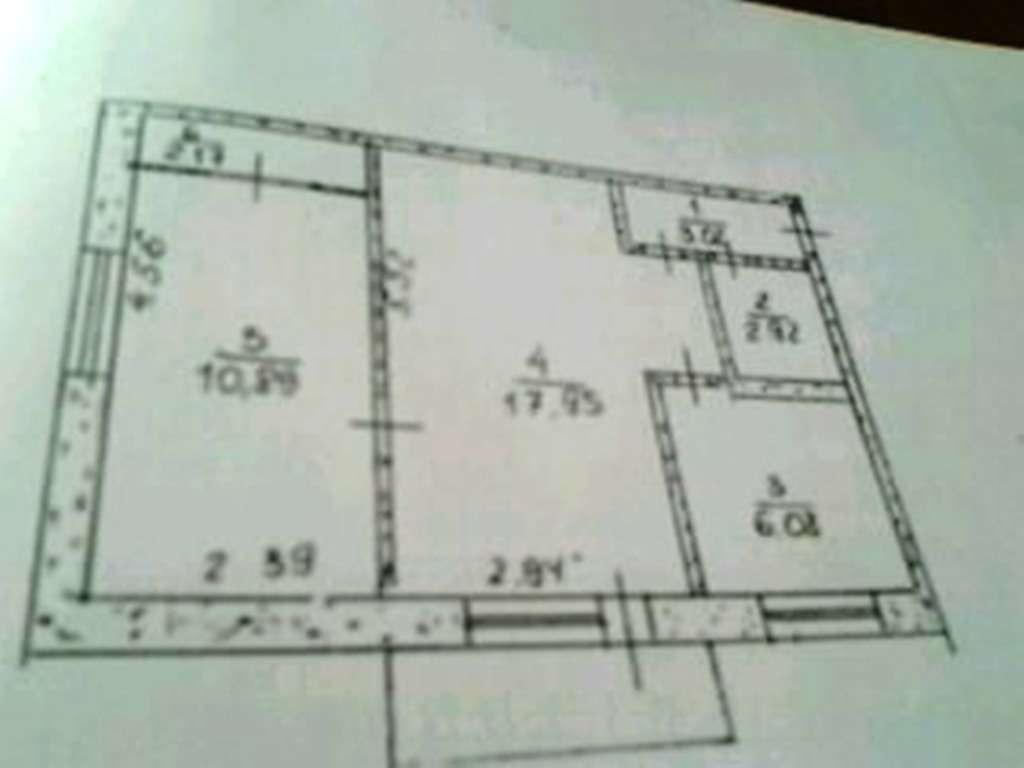 Продам 2-х комнатную квартиру на 44 кв-ле
