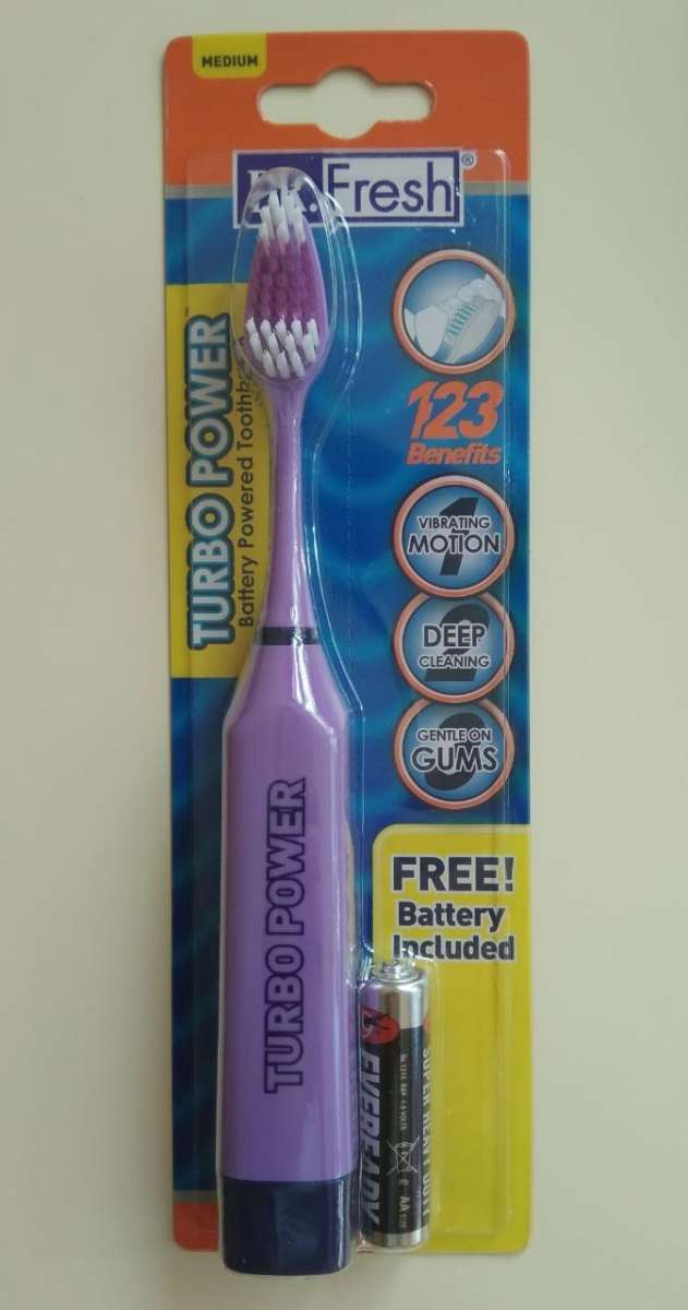 Электрическая зубная щетка Dr. Fresh