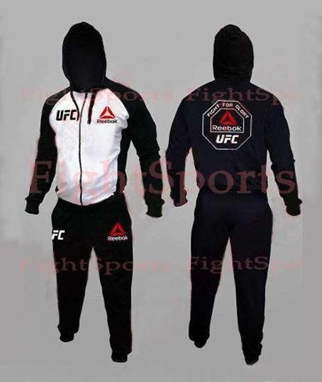 Спортивный костюм UFC REEBOK WHITE
