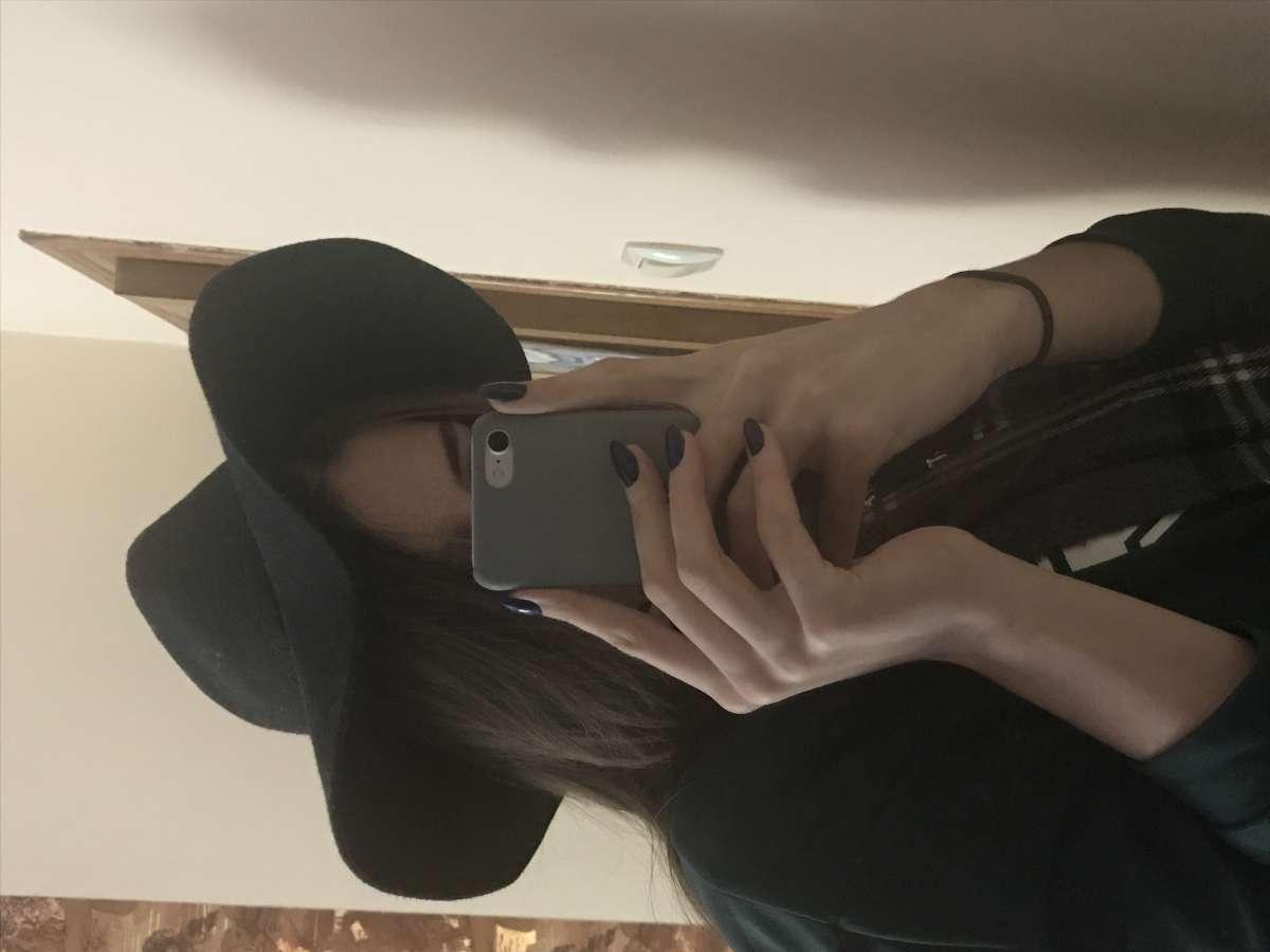 Шерстяная шляпа чёрная