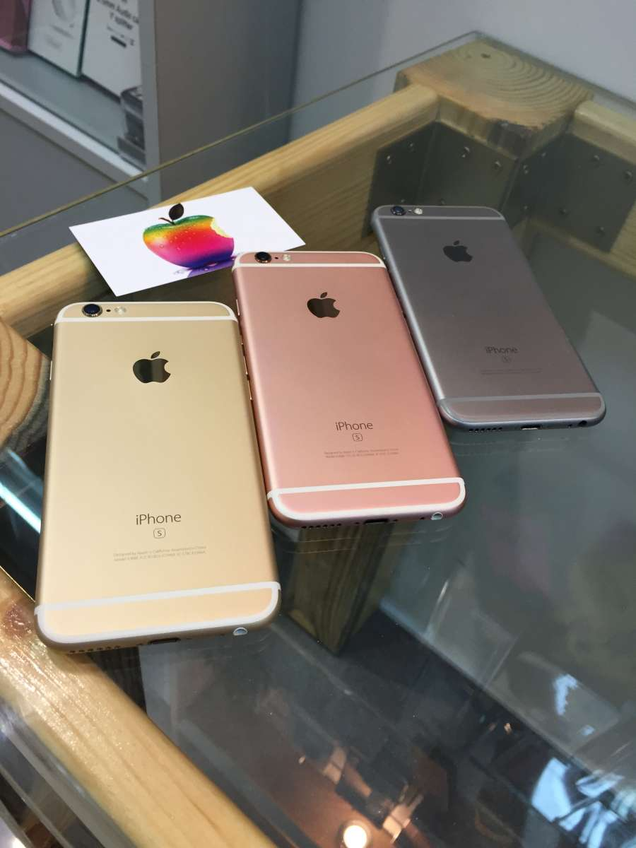 IPhone 6s 64 gb space\gold\rose