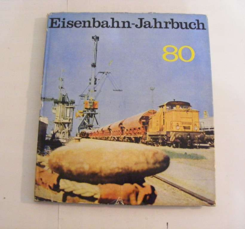 Железнодорожный Ежегодник (1980,1981,1982) Eisenbahn-Jahrbuch DDR