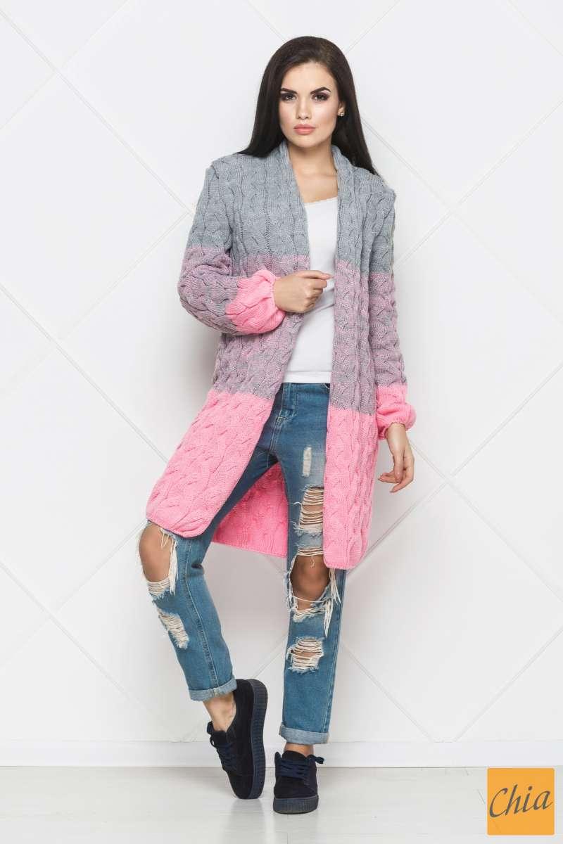 0067ee80 Кардиган женский, трехцветный, Лало, Lalo: 550 грн - мода і стиль ...
