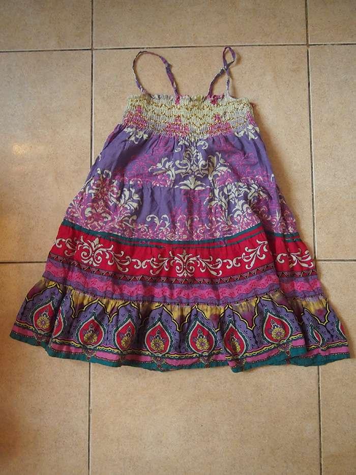 цветной сарафан для девочки 140 маломерит
