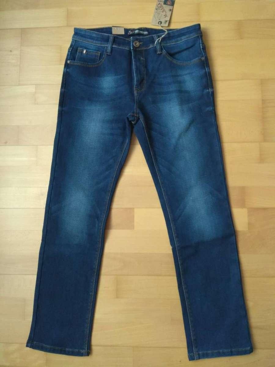 Теплые мужские джинсы на флисе тм M-Sara, Венгрия, большие размеры