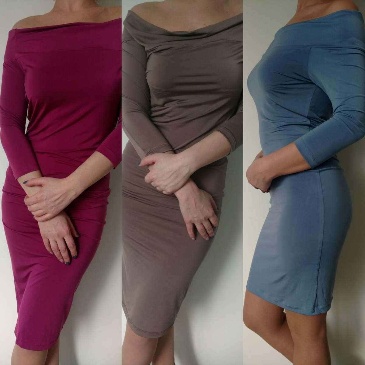Платье из стрейча