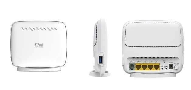 Модем ADSL ZTE ZXHN H108N WiFi Укртелеком Новий,комплект